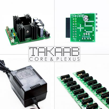 ซื้อ TAKAAB Core & Plexus - Eurorack Power Solution (Green, Pre Assembled, N/A) ออนไลน์