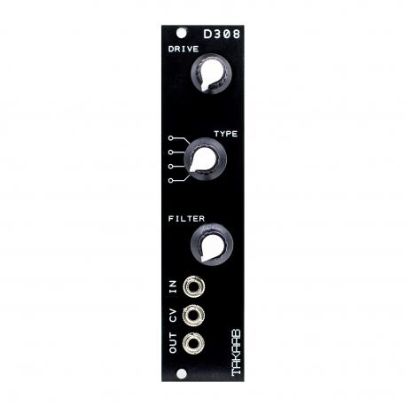 ซื้อ TAKAAB D308 Vintage Distortion Eurorack Synthesizer Module (Black, Pre Assembled, 6hp) ออนไลน์
