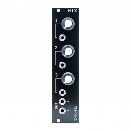 ซื้อ TAKAAB MIX - 3 Channel Mixer Eurorack Synthesizer Module  (Black, Pre Assembled, 6hp) ออนไลน์