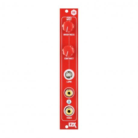 ซื้อ LZX Cadet III Video Input PCB + Panel (Red, Part Kit / PCB and Panel, 4hp) ออนไลน์