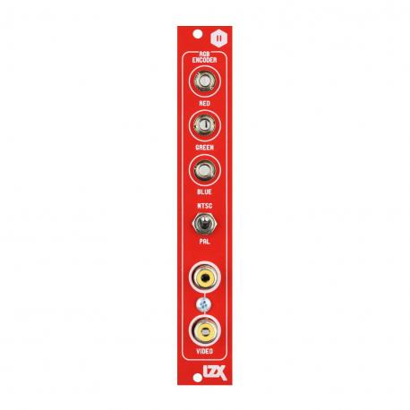 ซื้อ LZX Cadet II RGB Encoder PCB + Panel + Encoder IC (Red, Part Kit / PCB and Panel, 4hp) ออนไลน์