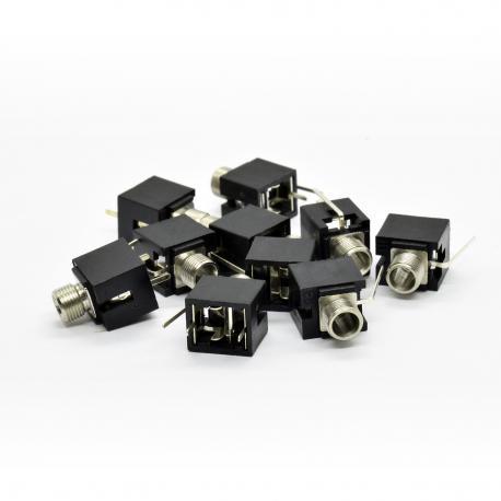 ซื้อ 10x 'Thonkiconn' PJ398SM Horizontal Eurorack Mono 3.5mm Jack Sockets ออนไลน์