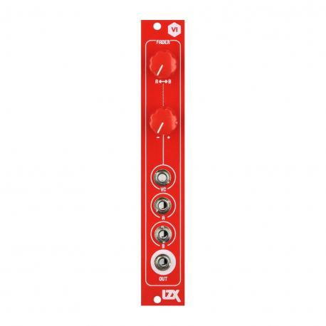 ซื้อ LZX Cadet VI Fader PCB + Panel (Red, Part Kit / PCB and Panel, 4hp) ออนไลน์