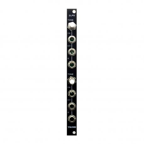 ซื้อ TAKAAB 2LPG v2 - Dual Passive Low Pass Gate Eurorack Synthesizer Module (Black, Pre Assembled, 2hp) ออนไลน์