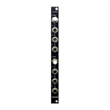 ซื้อ TAKAAB 2LPG v2 - Dual Passive Low Pass Gate Eurorack Synthesizer Module (Black, Pre Assembled, 2hp) ออนไลน์