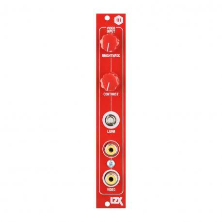 ซื้อ LZX Cadet III Video Input PCB + Panel (Red, Part Kit / PCB and Panel, 4hp) ออนไลน์