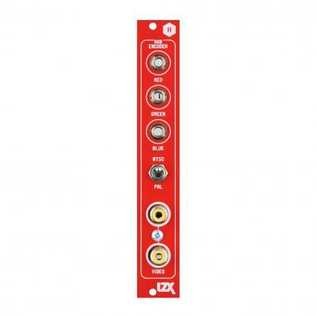 ซื้อ LZX Cadet II RGB Encoder PCB + Panel + Encoder IC (Red, Part Kit / PCB and Panel, 4hp) ออนไลน์