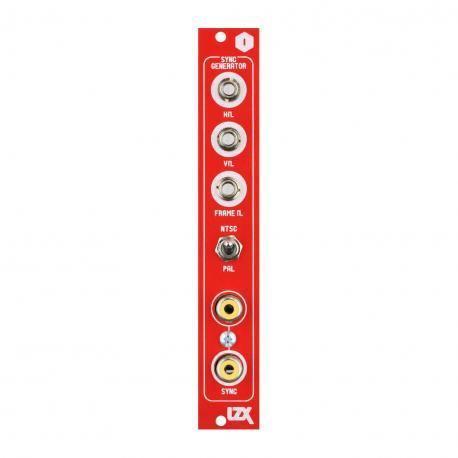 ซื้อ LZX Cadet I Sync Generator PCB + Panel + Microprocessor (Red, Part Kit / PCB and Panel, 4hp) ออนไลน์