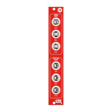 ซื้อ LZX Cadet IV Dual Ramp Generator PCB + Panel (Red, Part Kit / PCB and Panel, 4hp) ออนไลน์