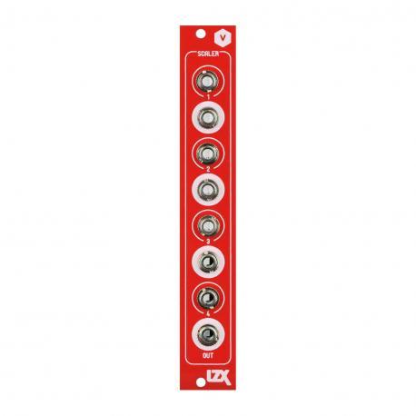 ซื้อ LZX Cadet V Scaler PCB + Panel (Red, Part Kit / PCB and Panel, 4hp) ออนไลน์