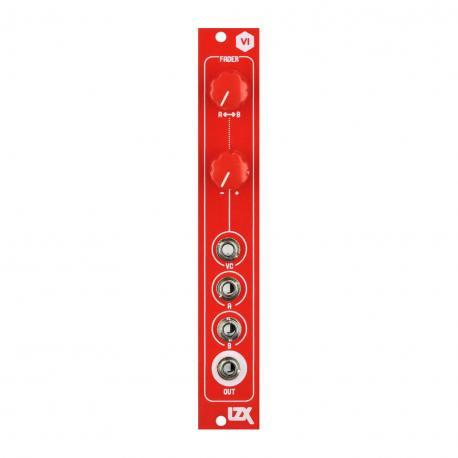 ซื้อ LZX Cadet VI Fader PCB + Panel (Red, Part Kit / PCB and Panel, 4hp) ออนไลน์